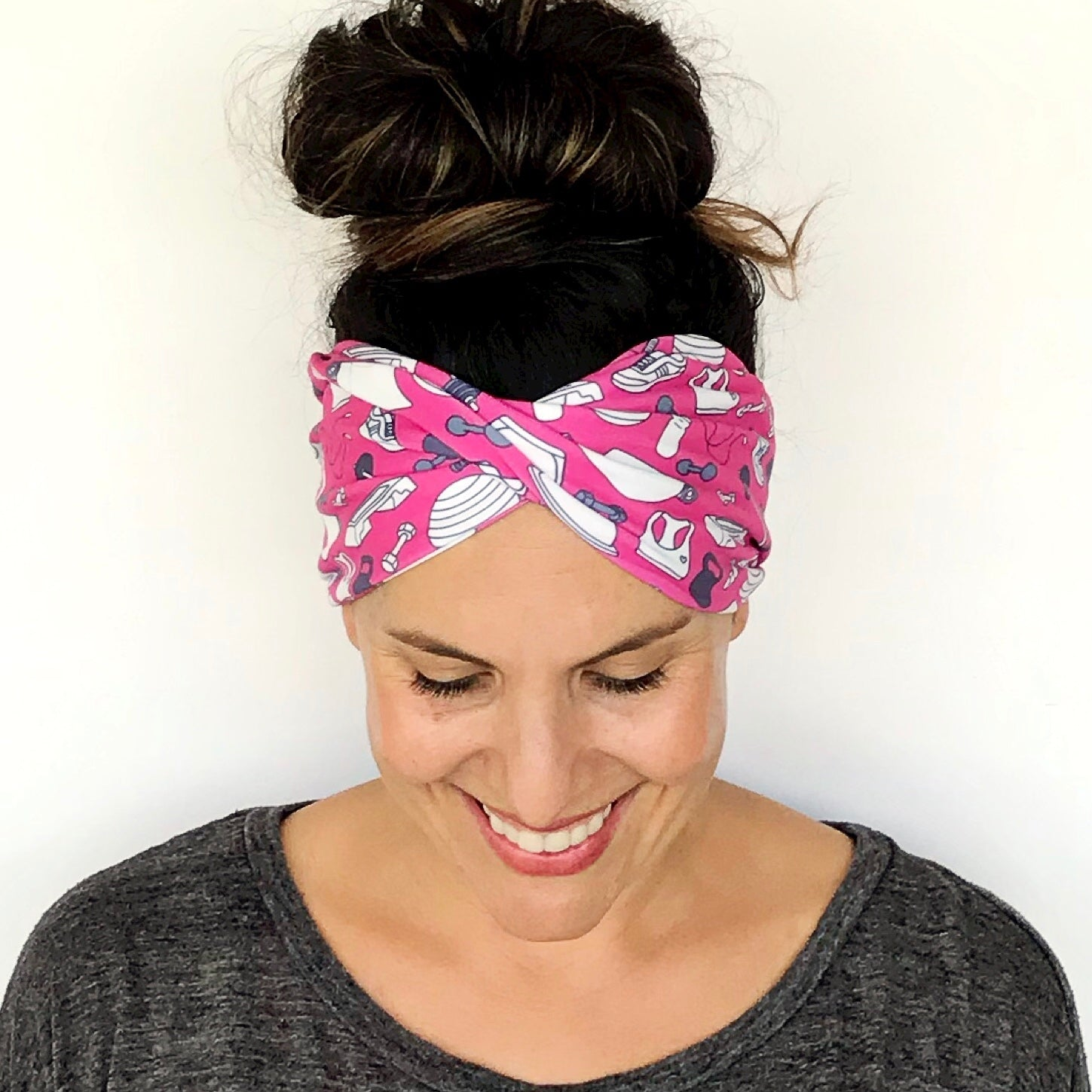 Miss Fitness Double Twist Headband