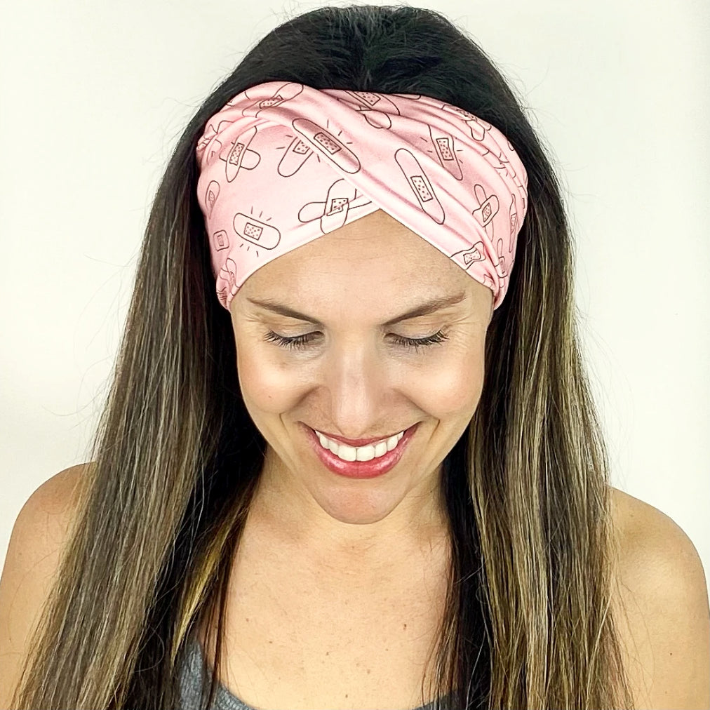 Band-Aid Twist Headband