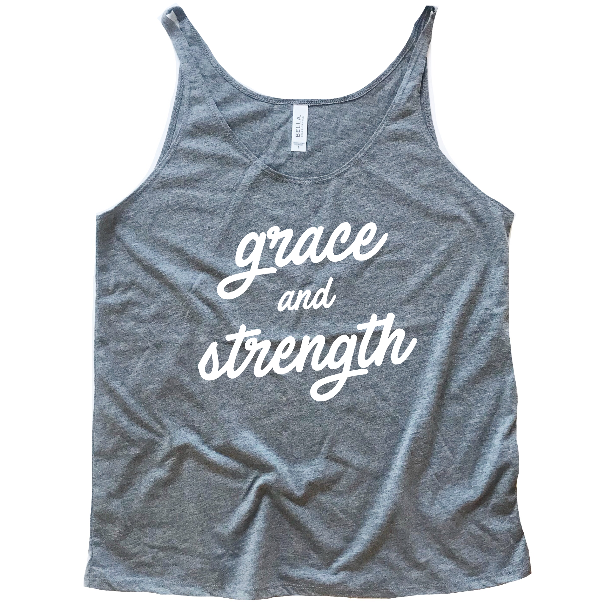 Grace + Strength Slouchy Tank