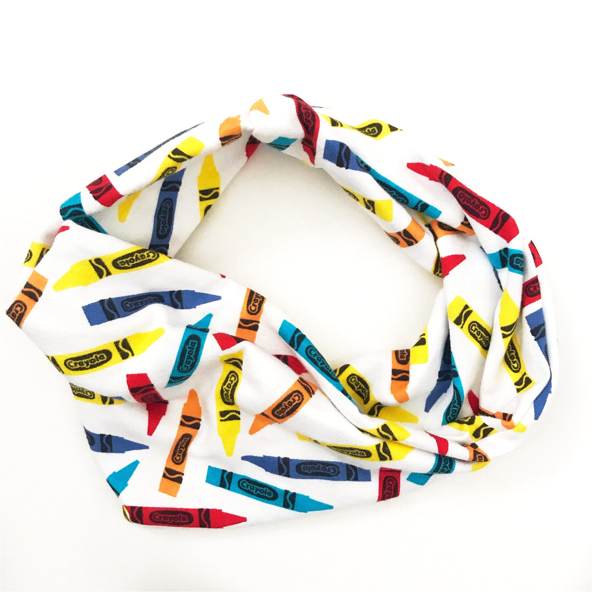 Crayon Double Twist Headband