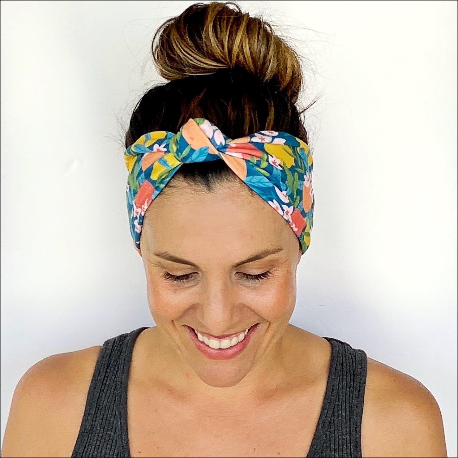 Lemon Tree Knotted Headband