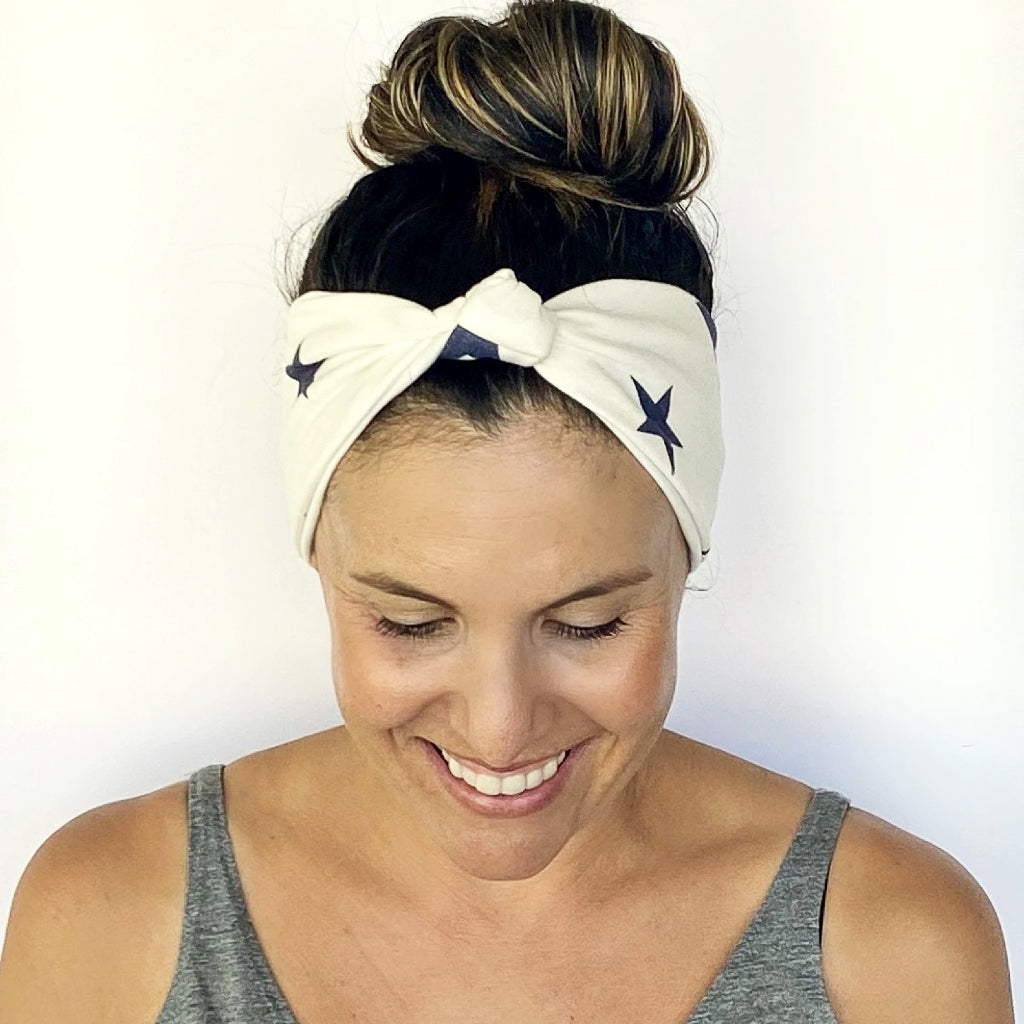 *Limited Edition* Summer Stars Knotted Headband