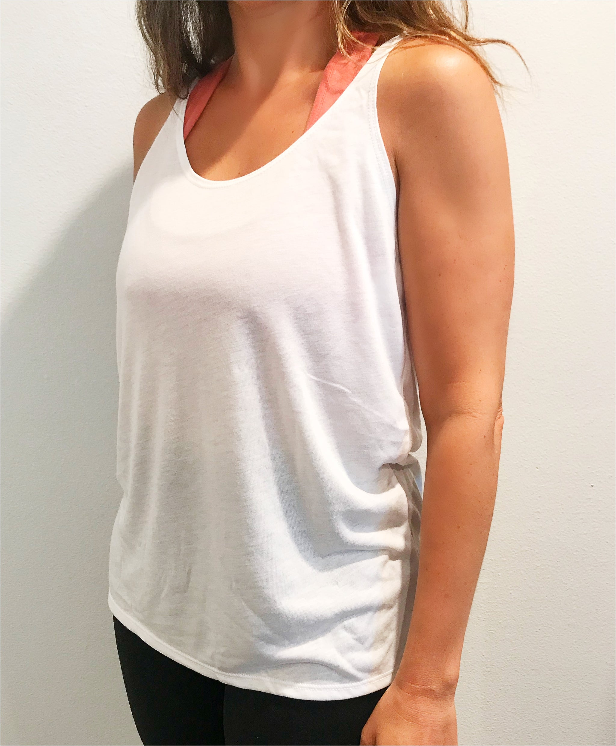 Workout For Wine Slouchy Tank