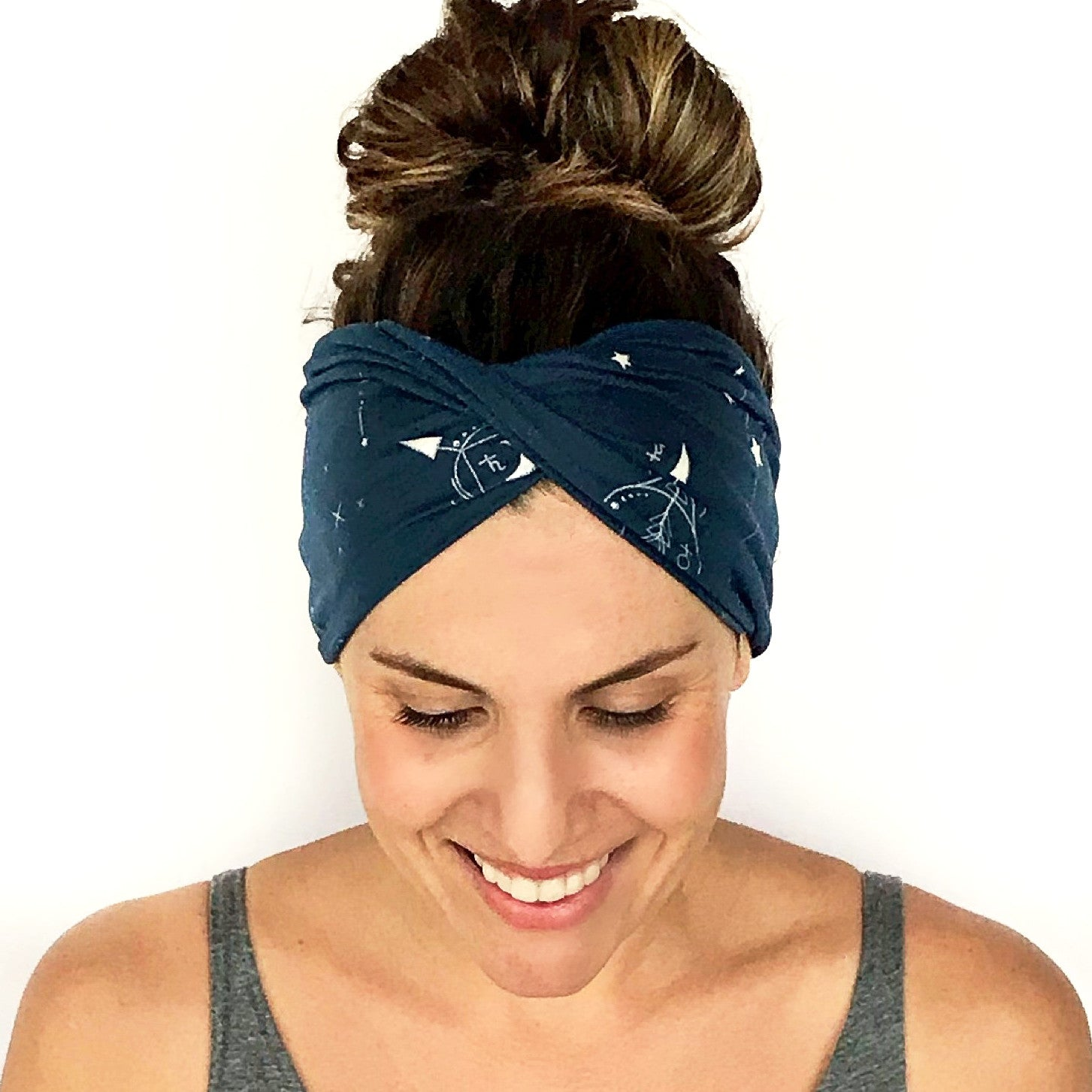 Zodiac Sky Double Twist Headband