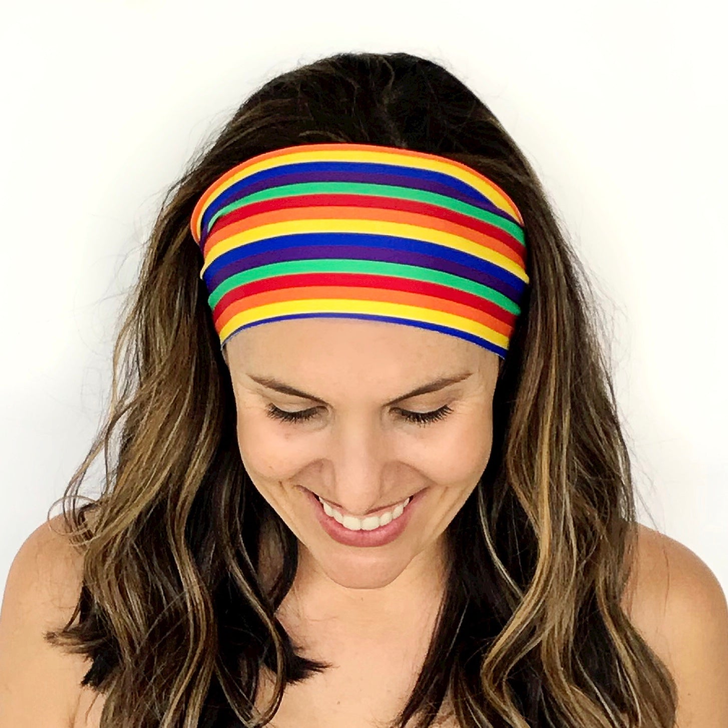 Rainbow Workout Headband