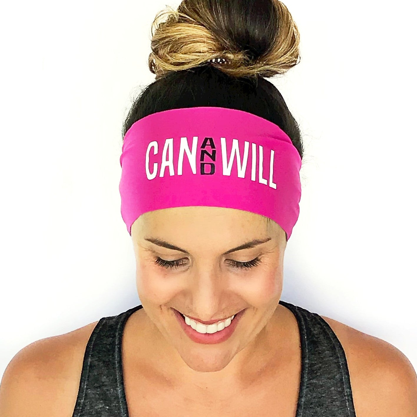 Can And Will Scripted Headband