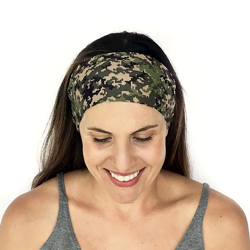 Digital Camo Workout Headband