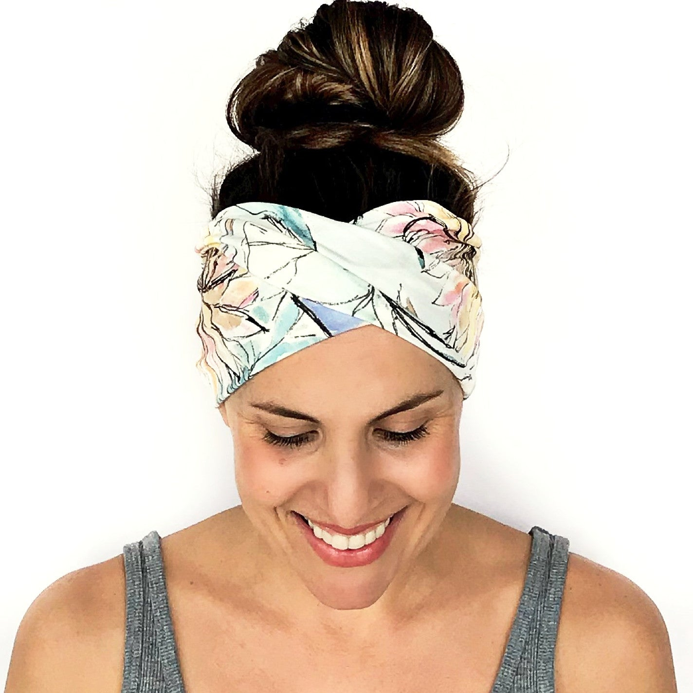 Aria Double Twist Headband