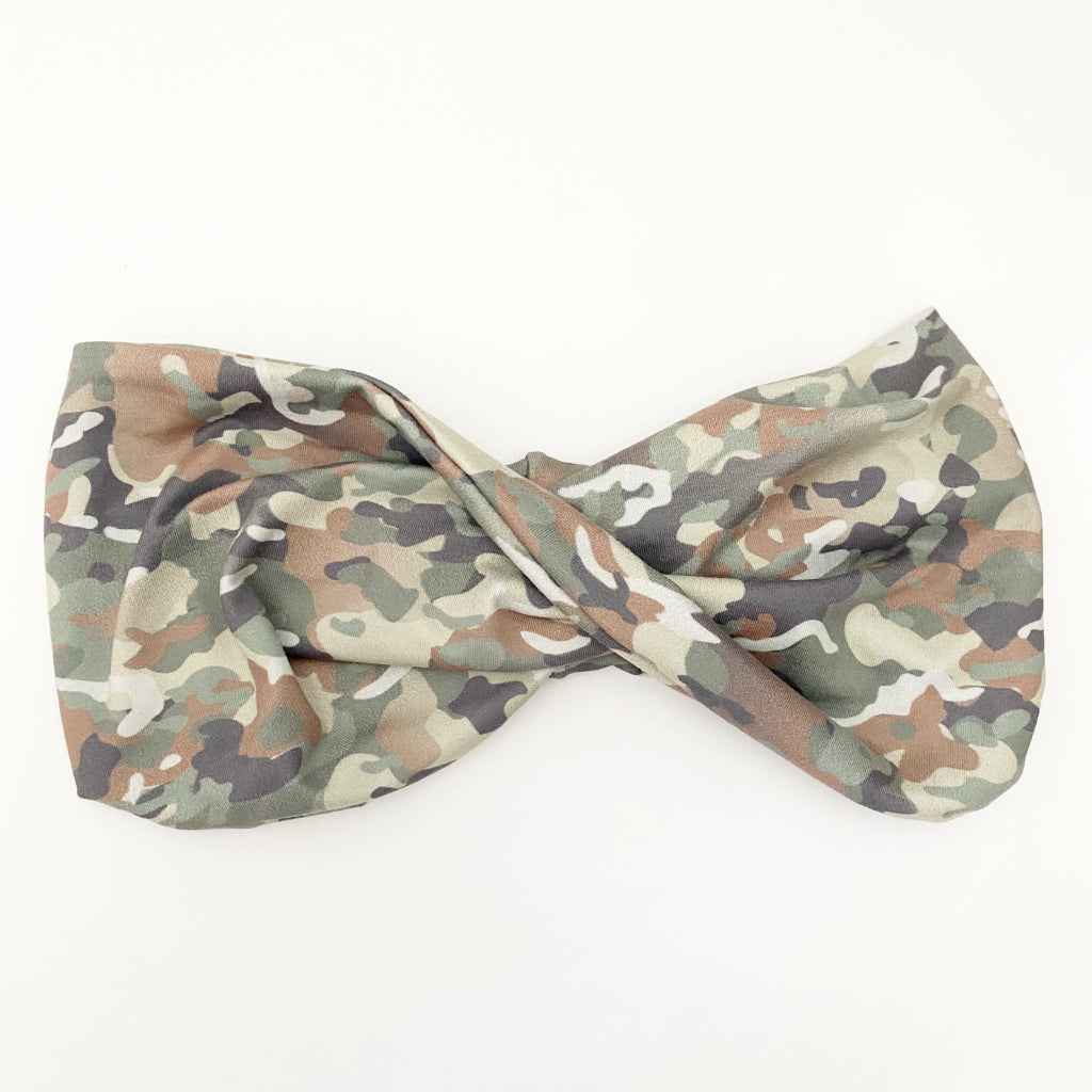 Subtle Camo Twist Headband