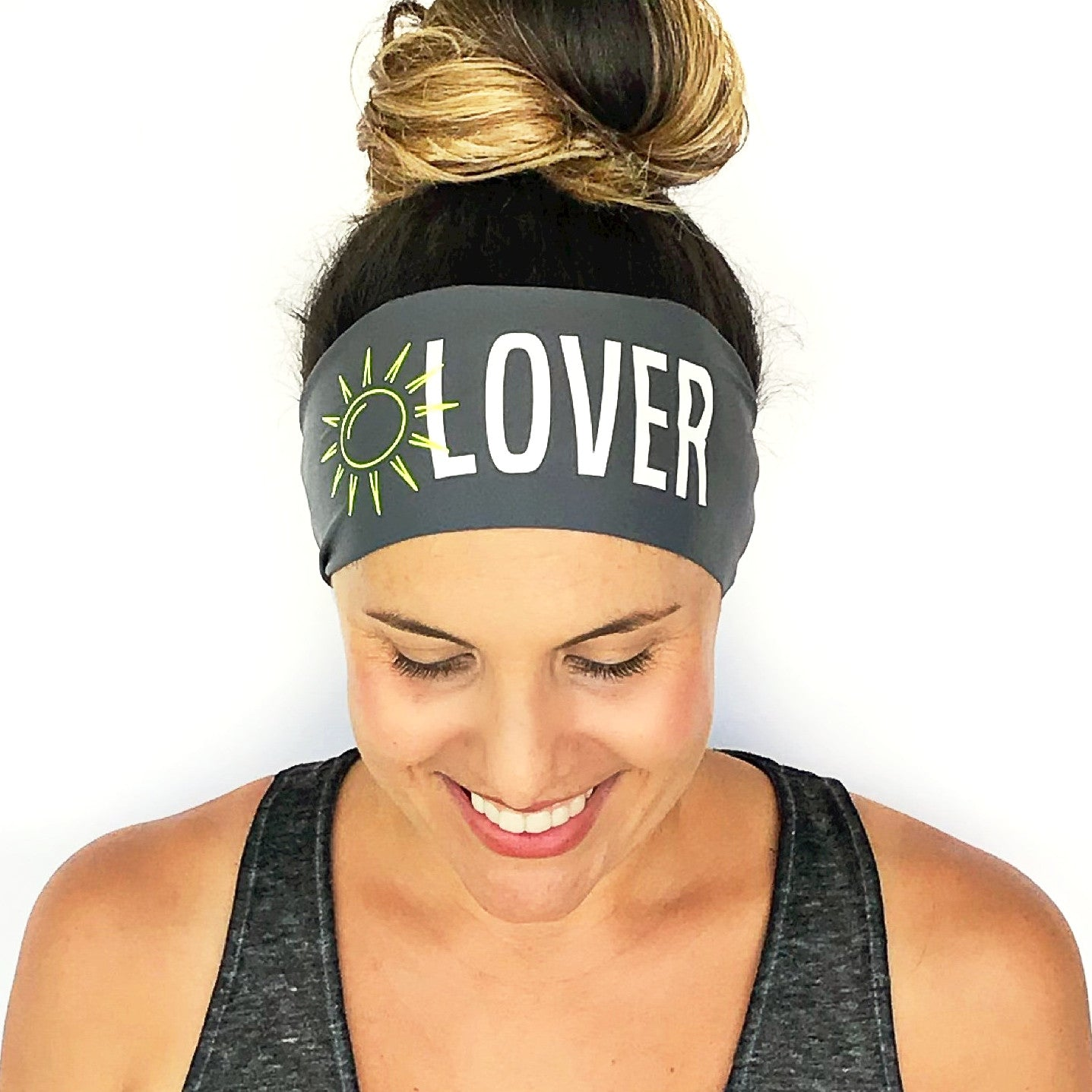 Sun Lover Scripted Headband