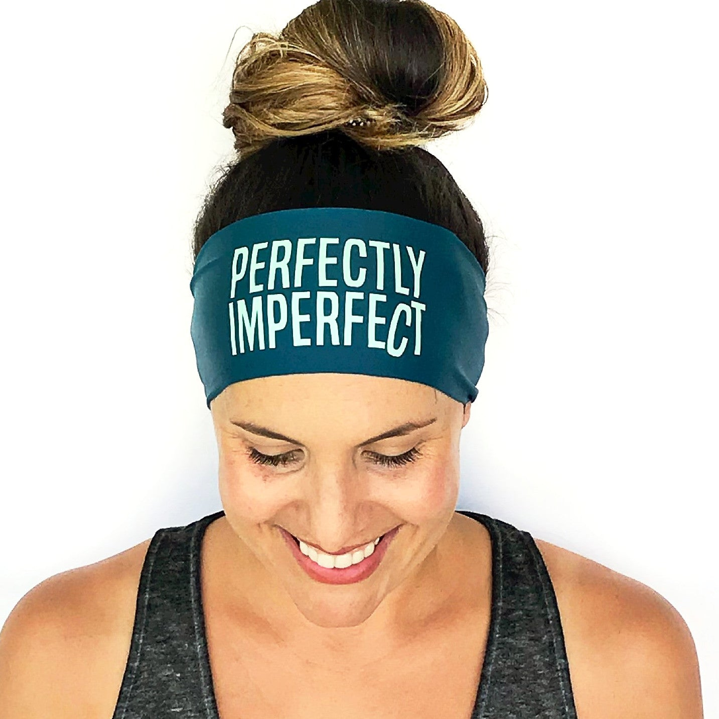 Perfectly Imperfect Scripted Headband