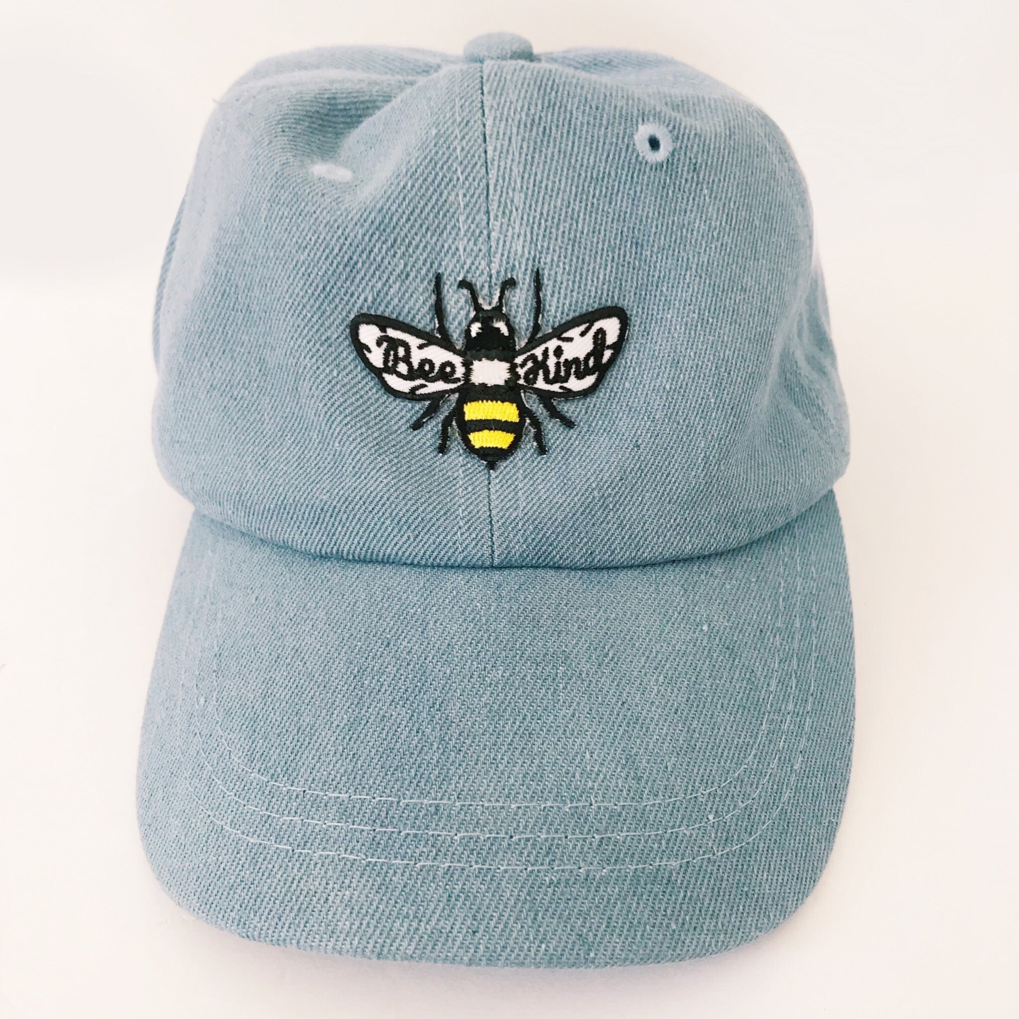 Bee Kind Embroidered Baseball Cap