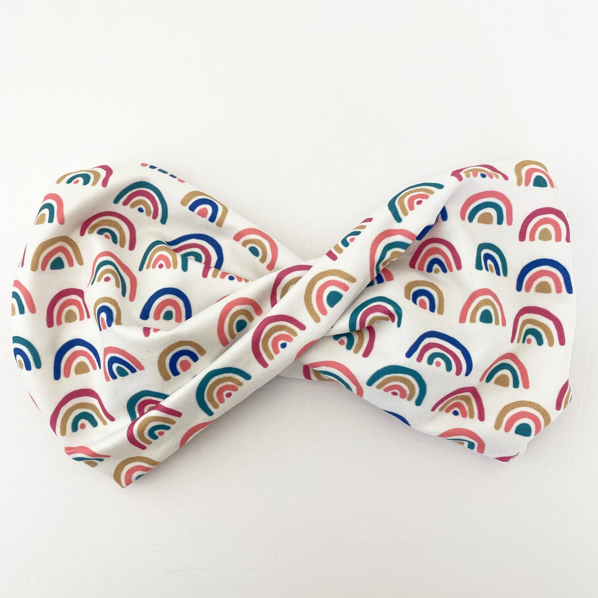 Darling Little Rainbow Twist Headband