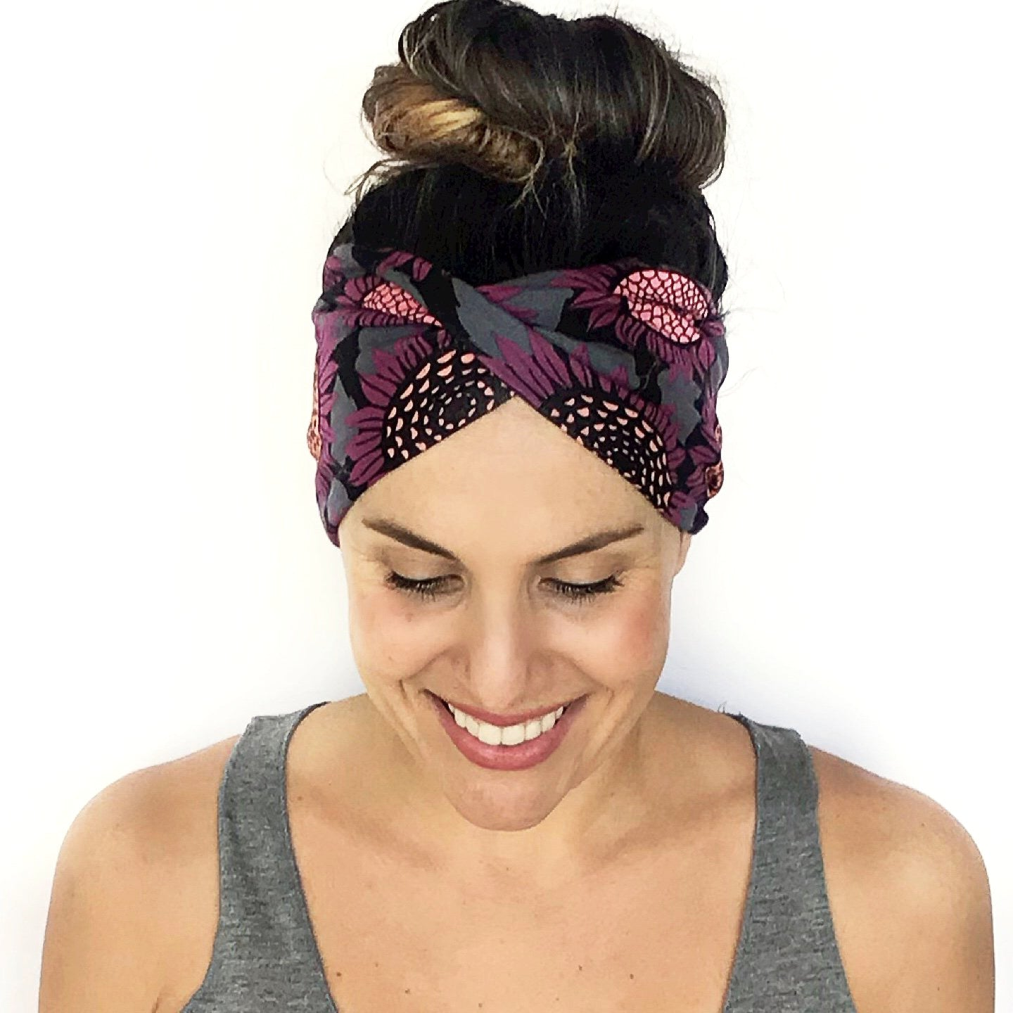 Ava Double Twist Headband