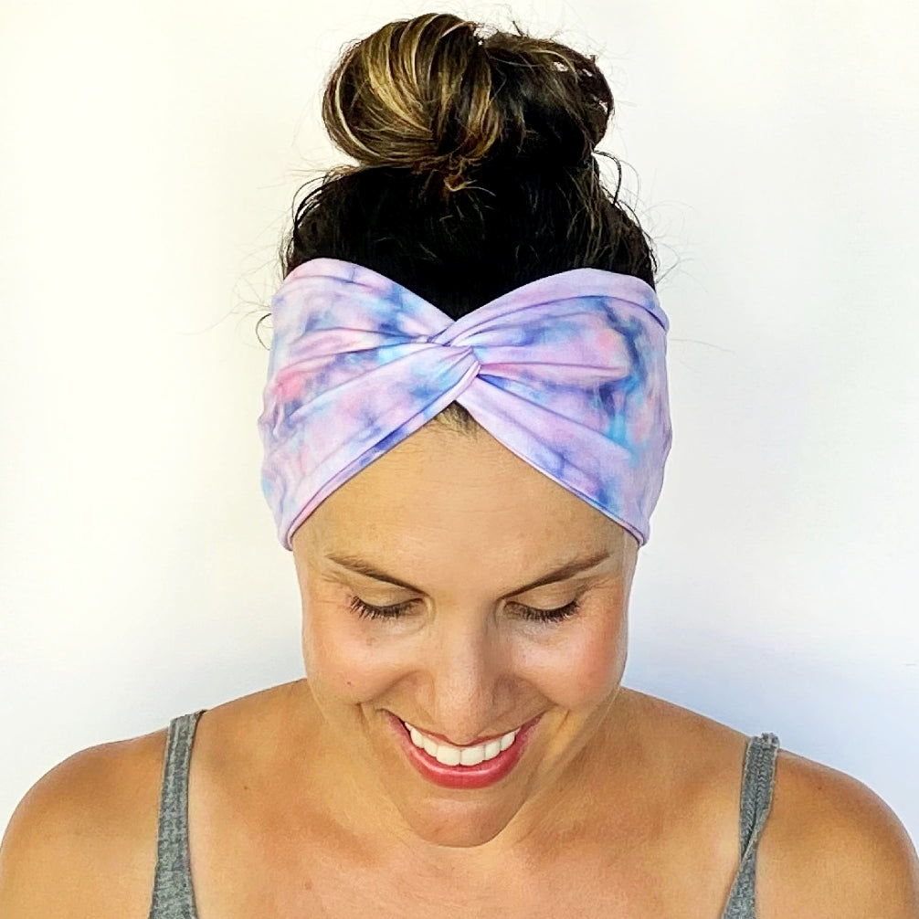 Dreamy Tie Dye Turban Headband