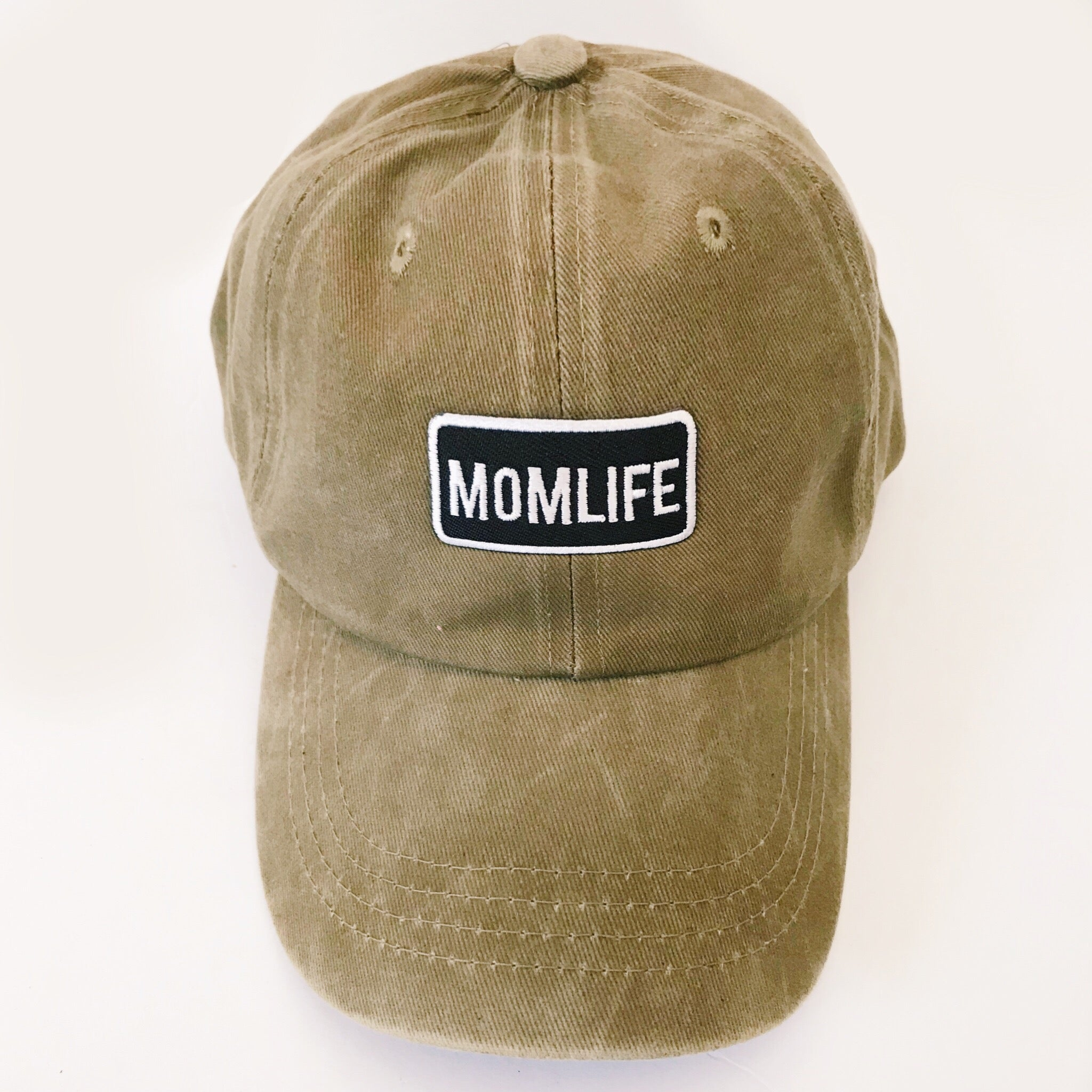 Momlife Embroidered Baseball Cap