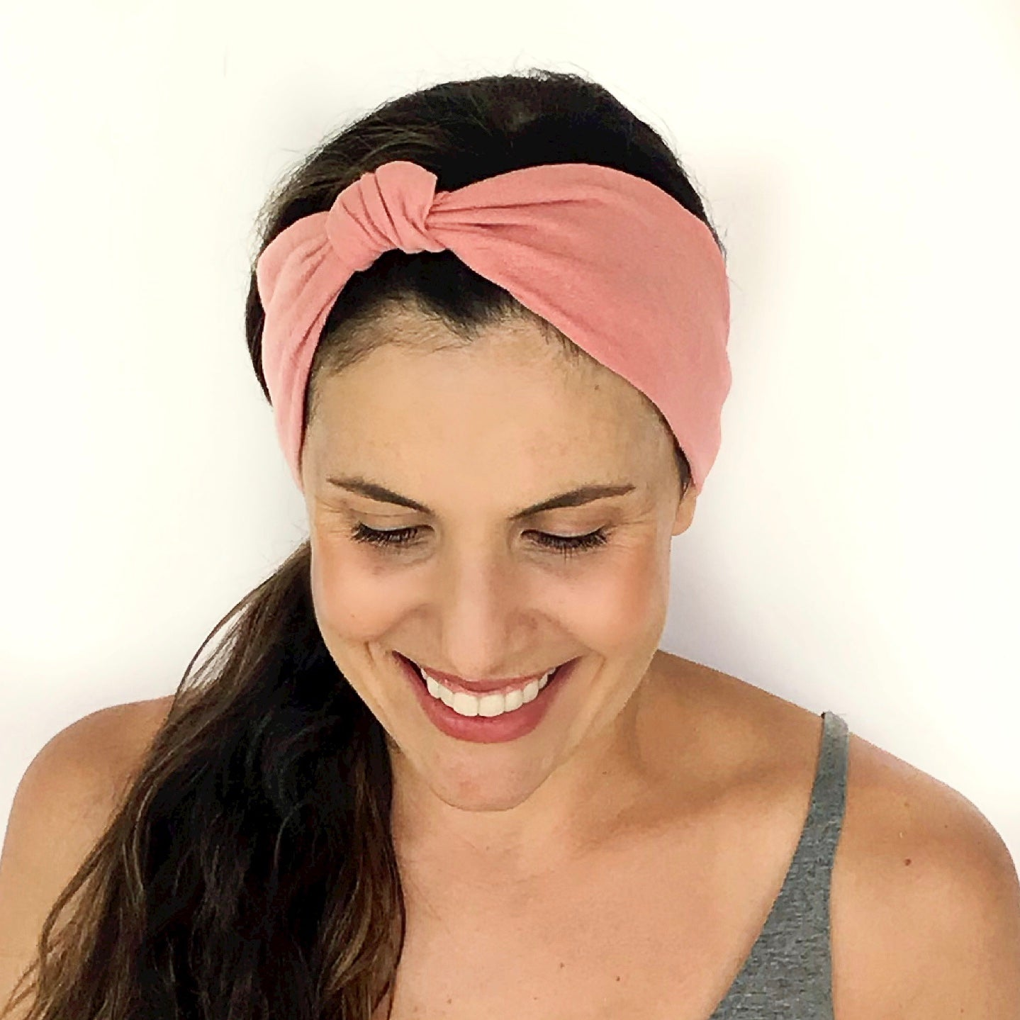 Blush Knotted Headband