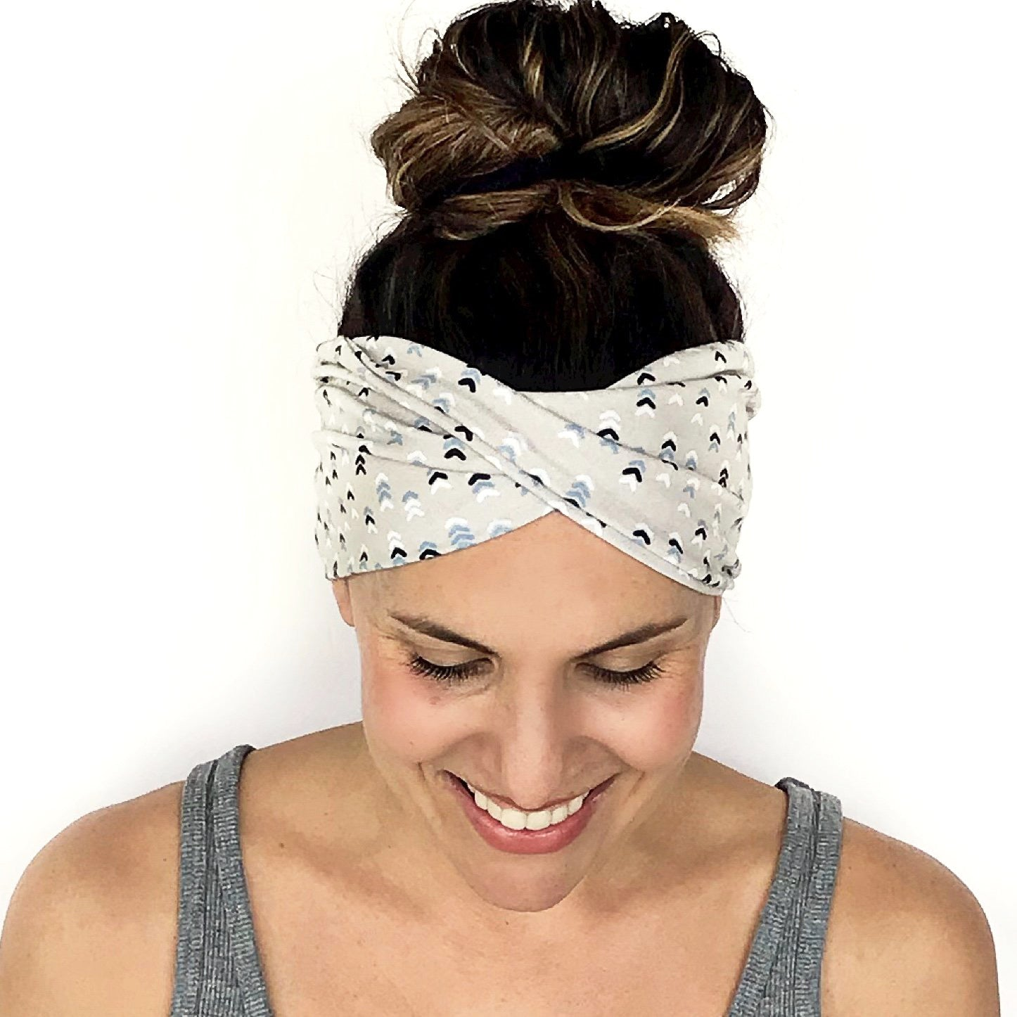 Forward Motion Double Twist Headband