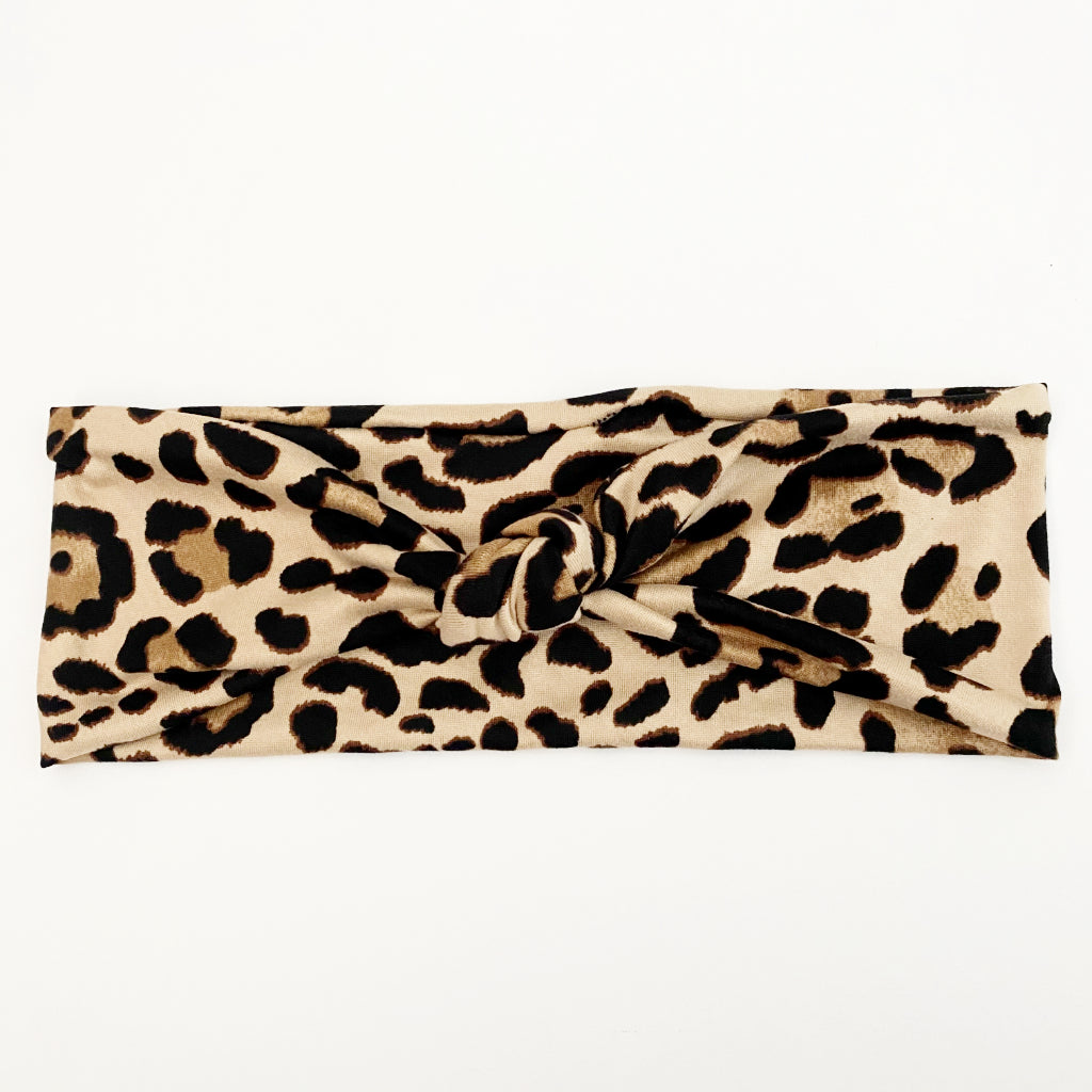 Sassy Cat Knotted Headband
