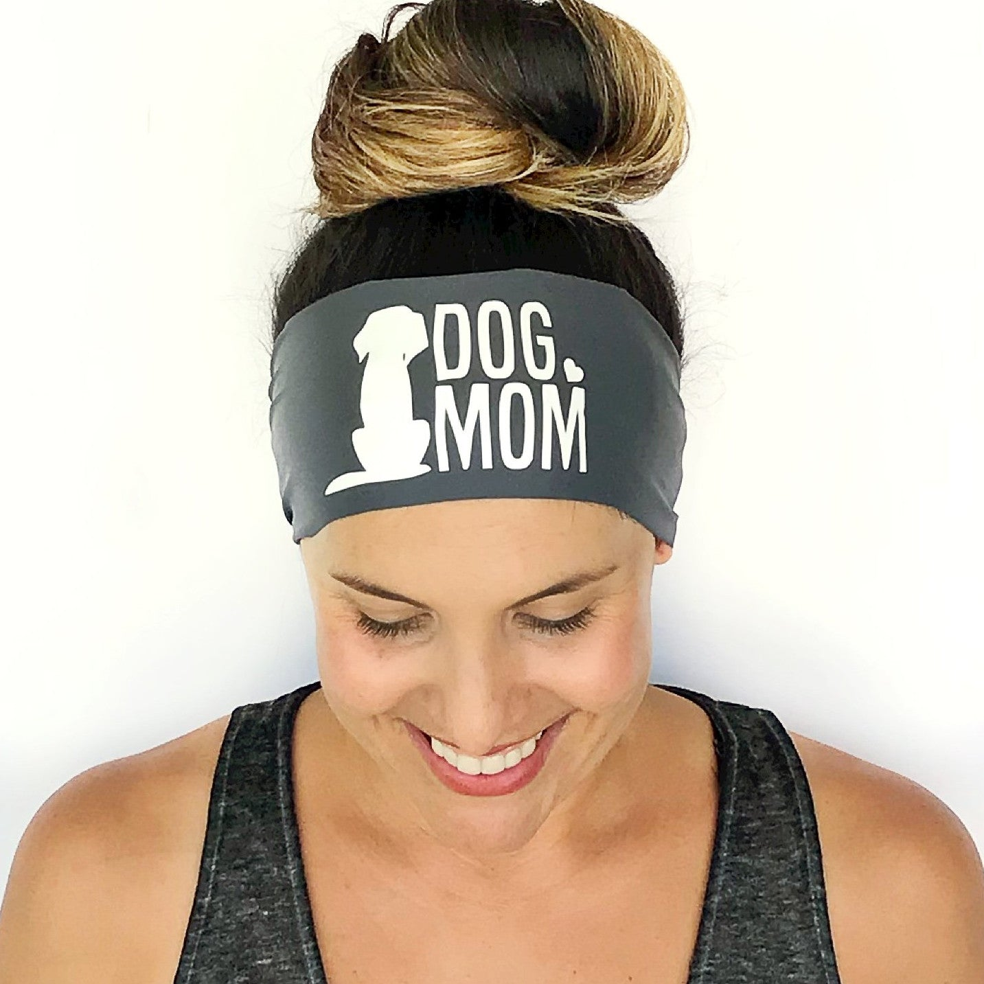 Dog Mom Scripted Headband