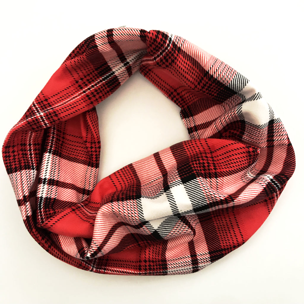 Glad It's Plaid Double Twist Headband