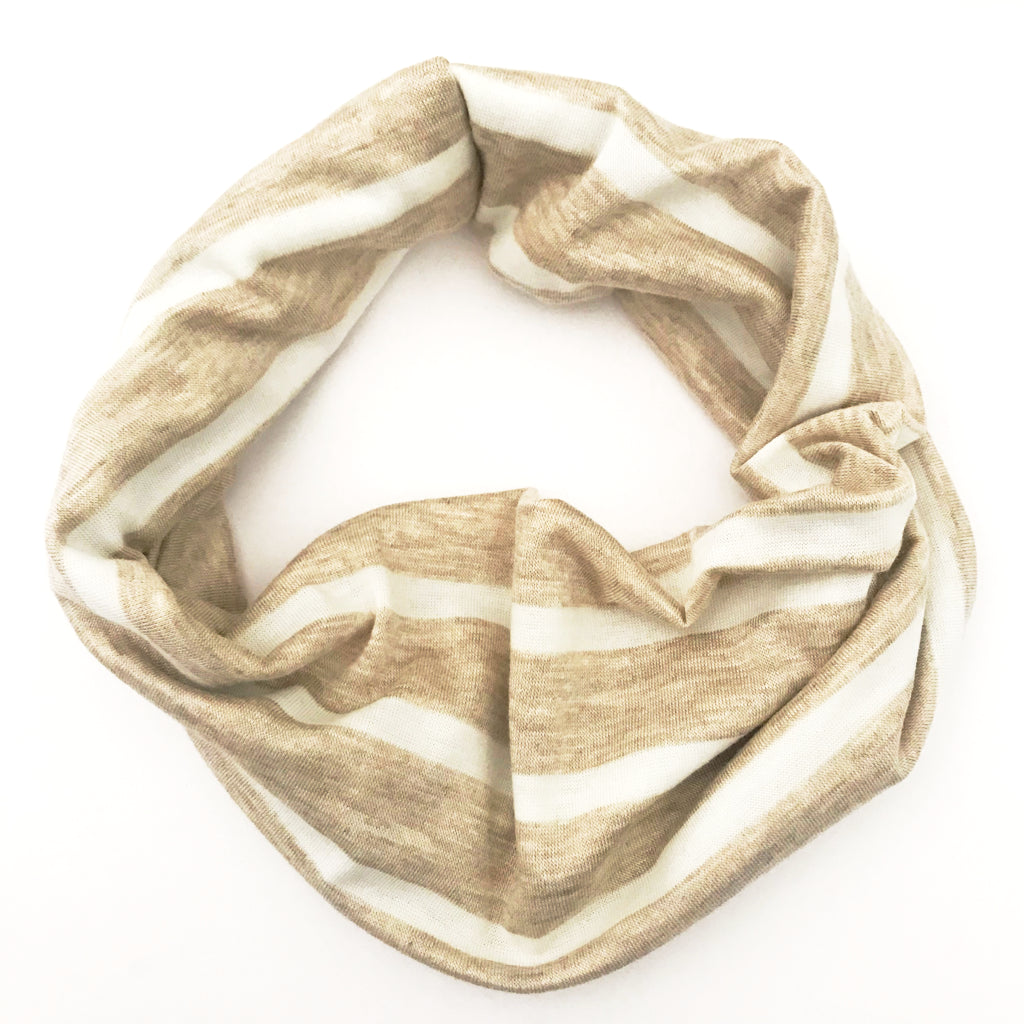Heathered Oat Double Twist Headband