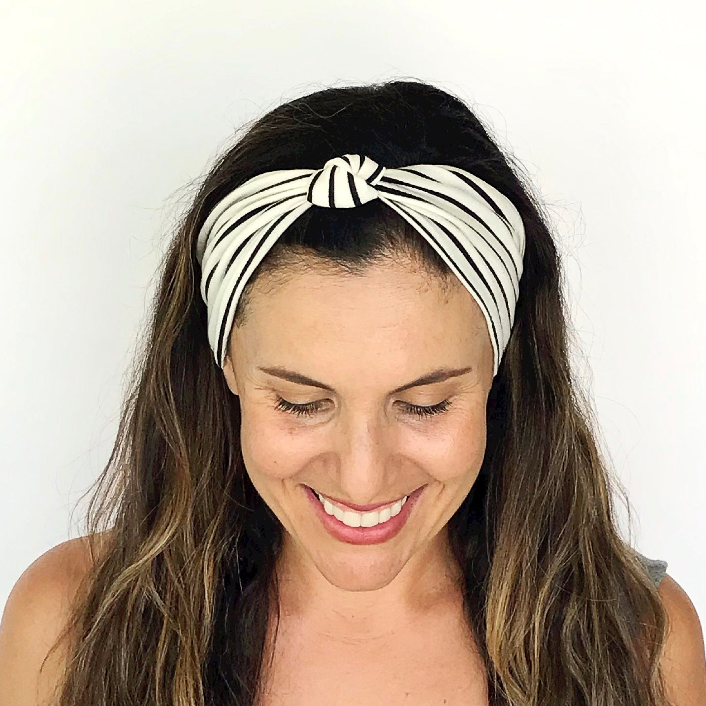 Simple Stripe Knotted Headband