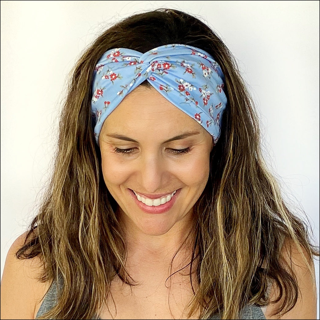 Gardenia Twisty Turban Headband