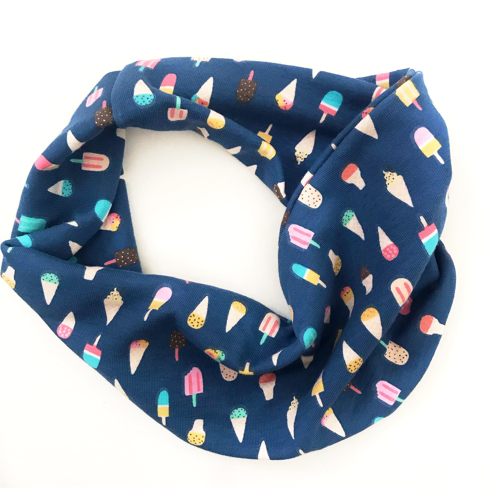 Ice Cream You Scream Double Twist Headband