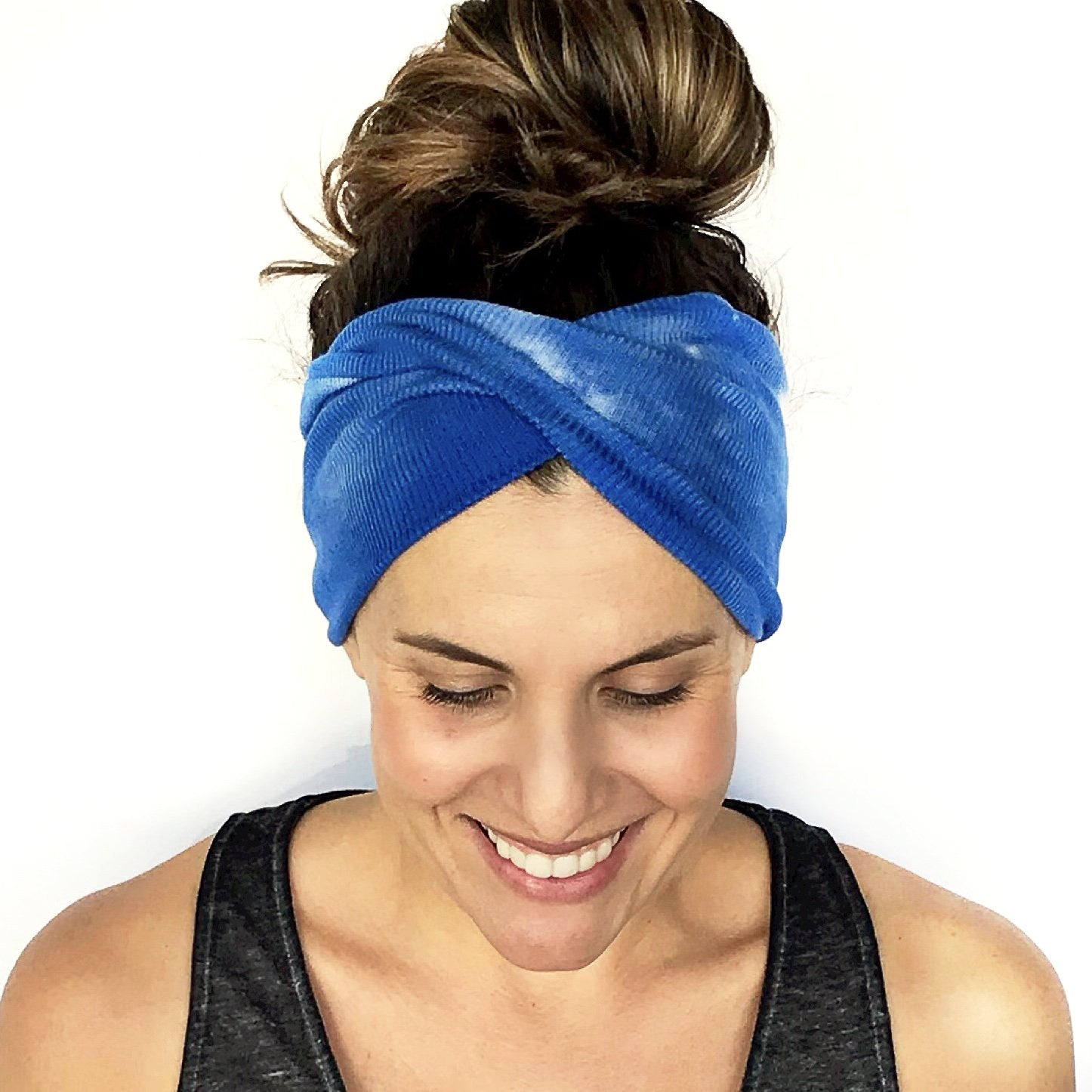 Cloud In The Sky Double Twist Headband