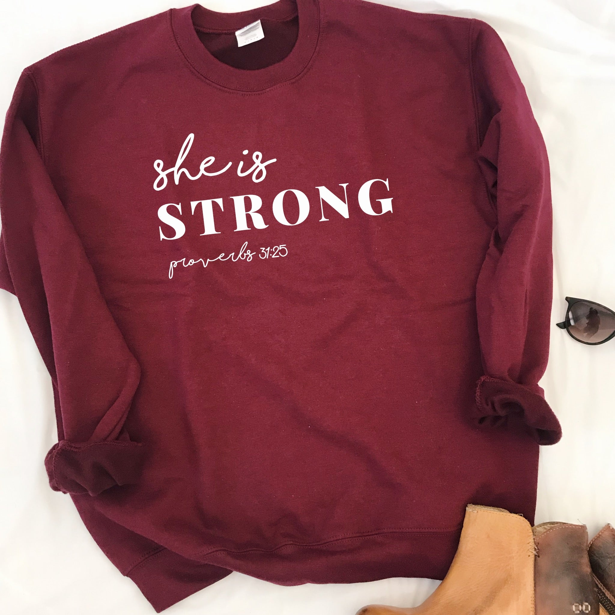 She Is Strong Sweatshirt