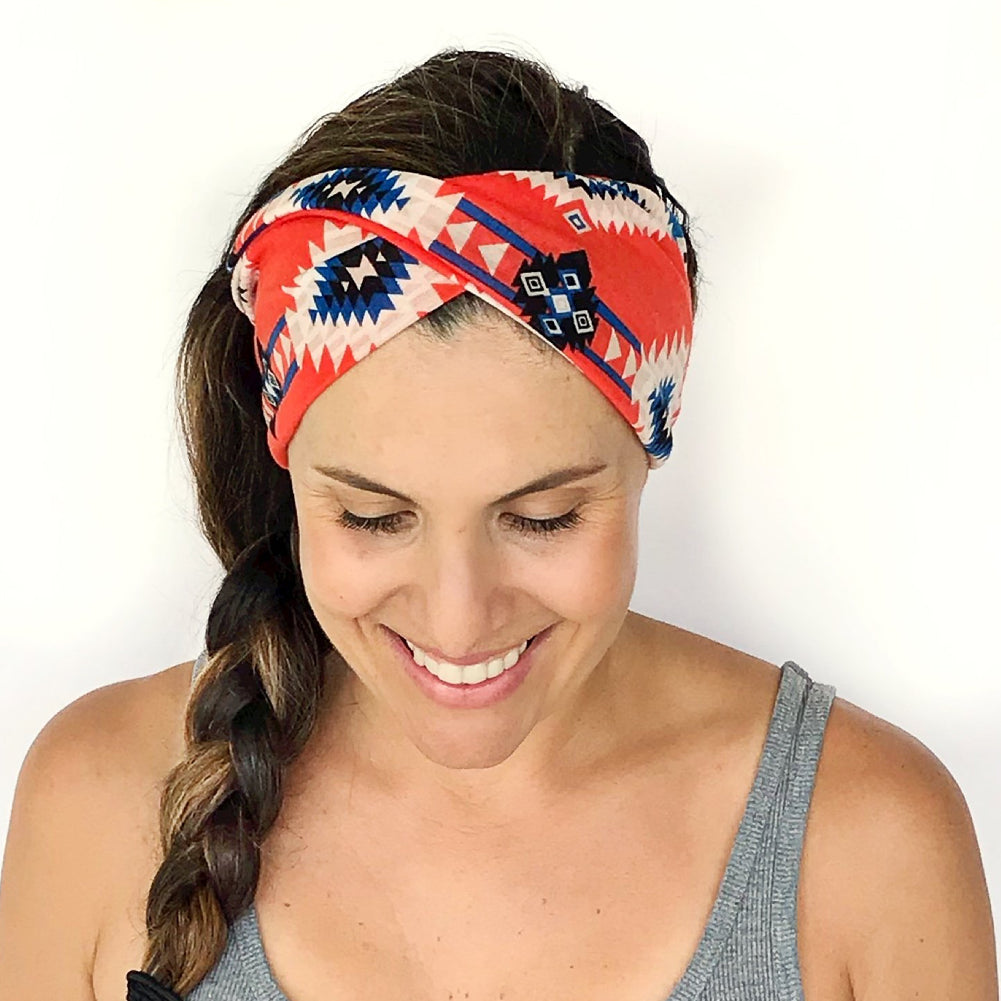 Santiago Double Twist Headband