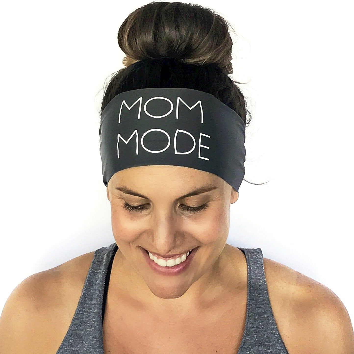 Mom Mode Scripted Headband