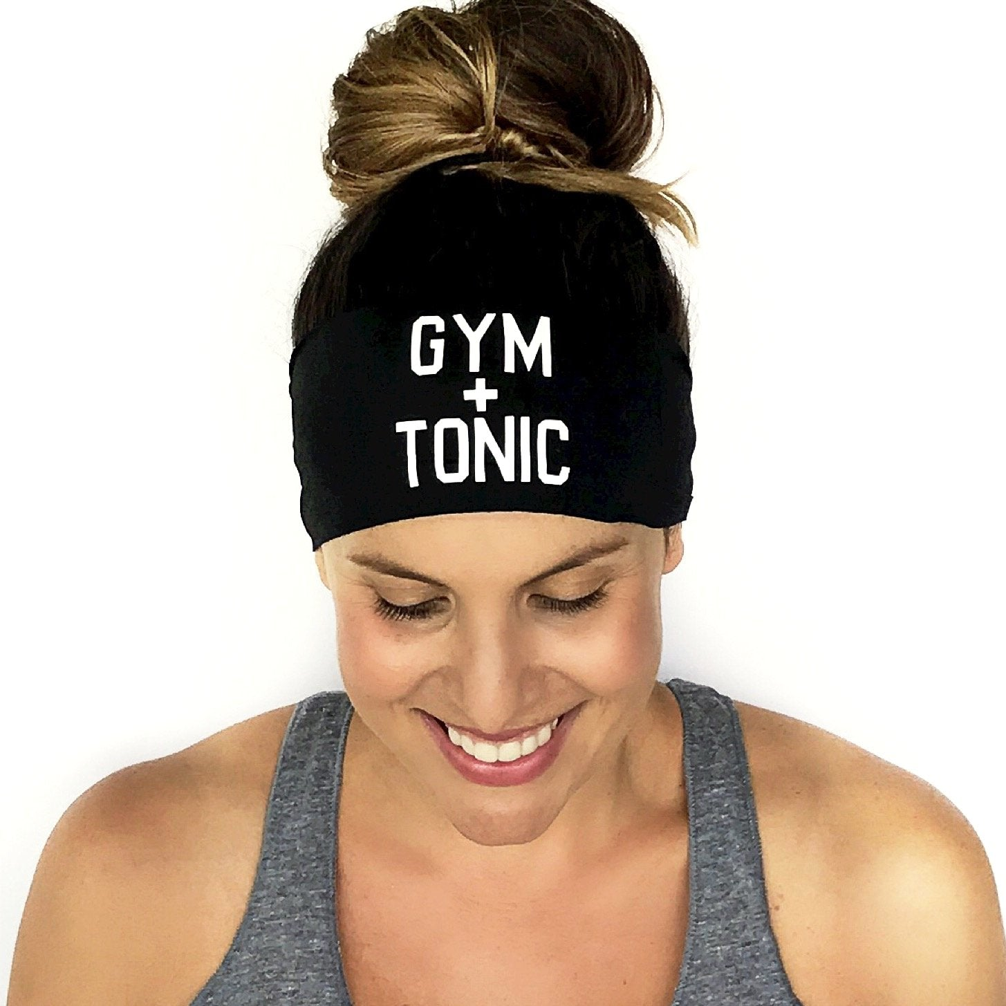 Gym & Tonic Scripted Headband