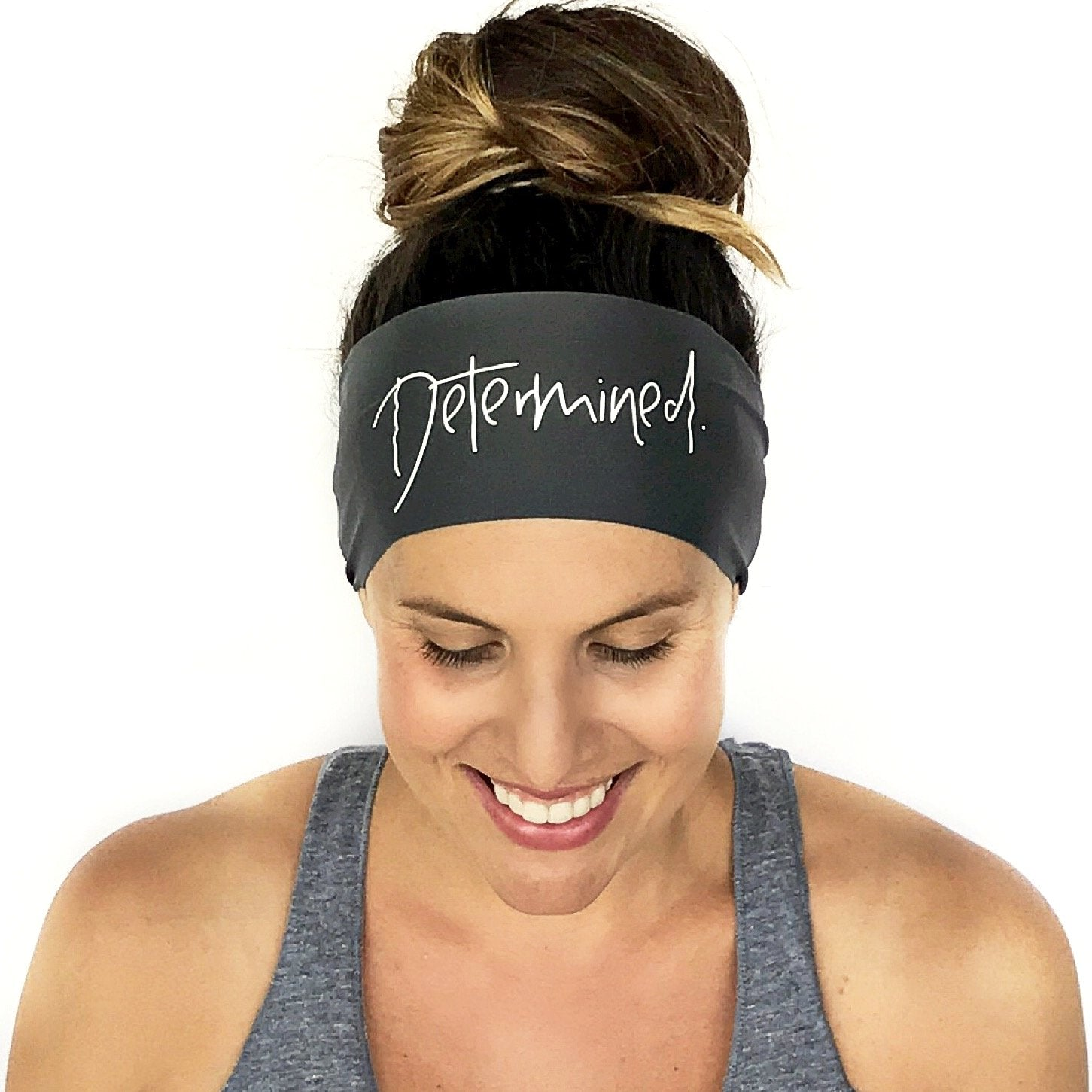 Determined Scripted Headband