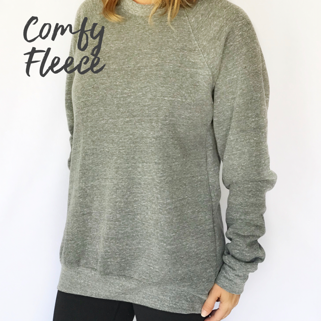 Strong + Courageous Comfy Fleece