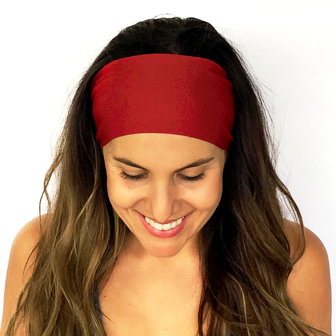 Burgundy Solid Headband