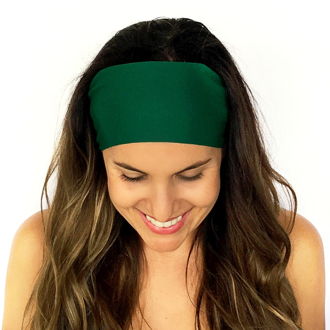 Emerald Green Solid Headband