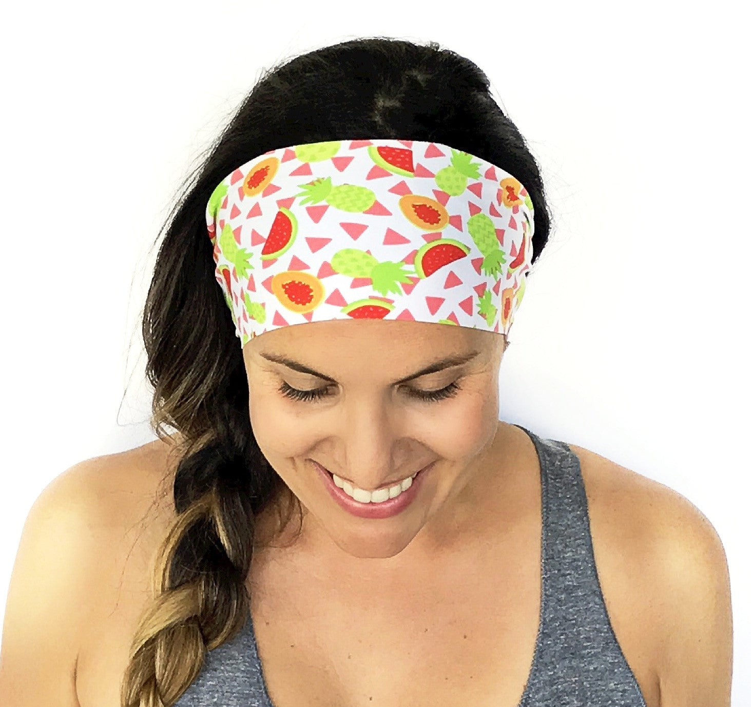 Tropical Smoothie Workout Headband