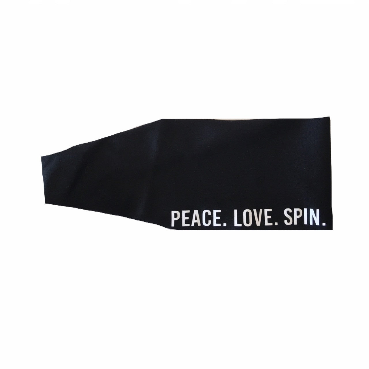 Peace. Love. Spin. Headband {Black}