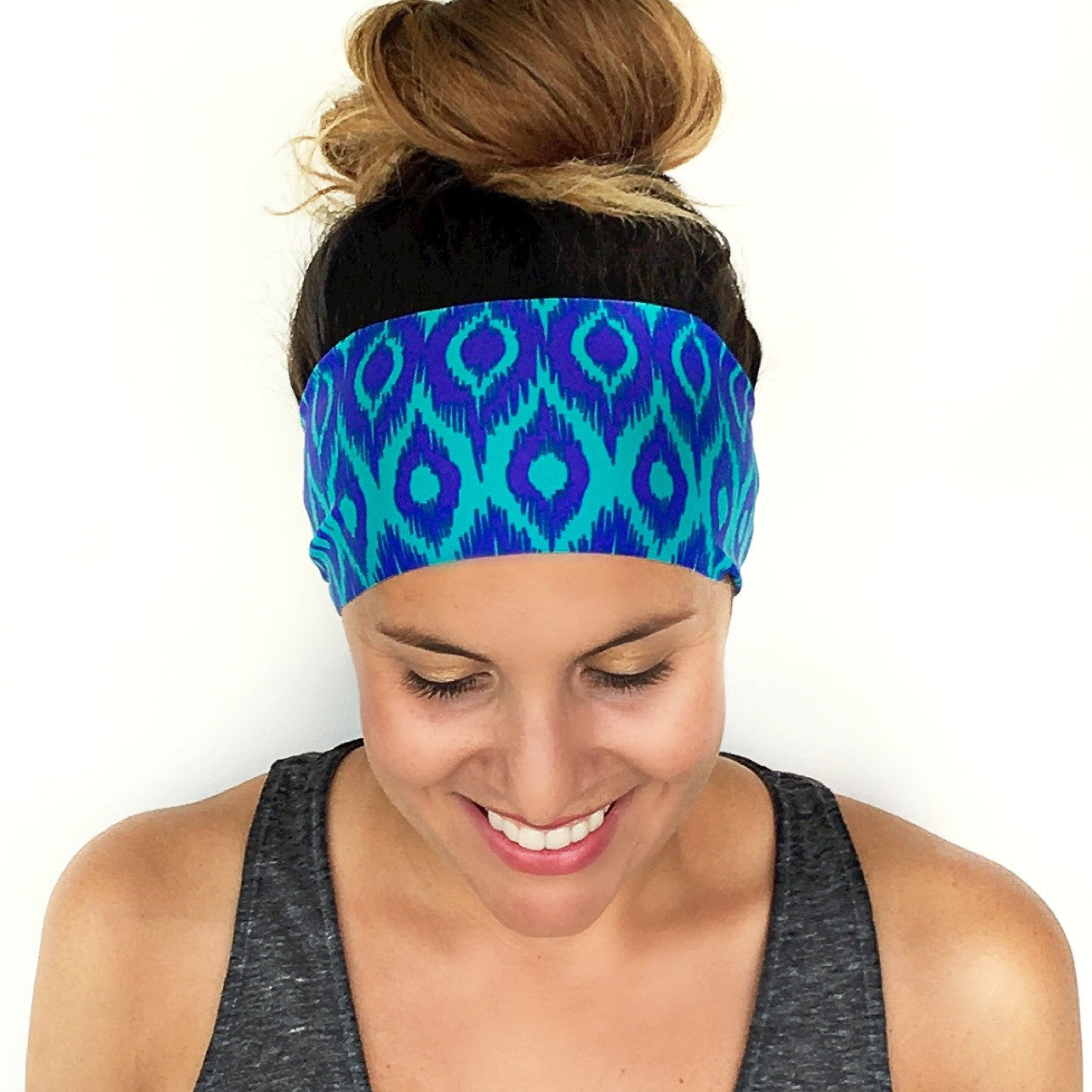 Palo Alto Print Workout Headband