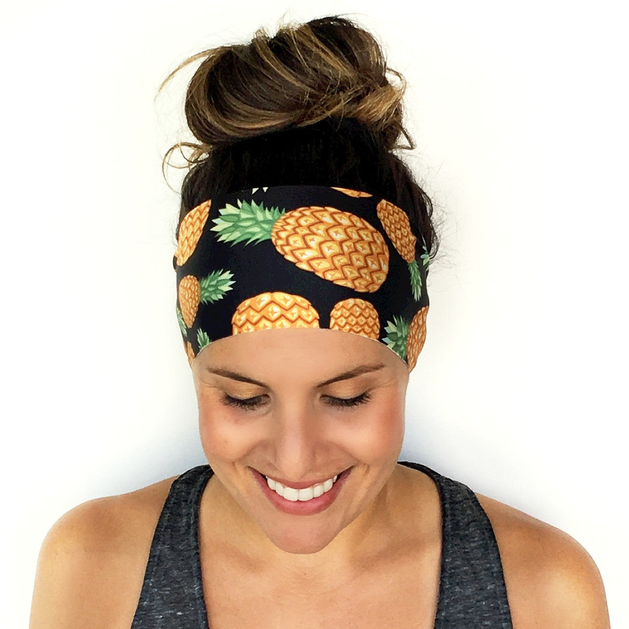 Golden Pineapple Headband