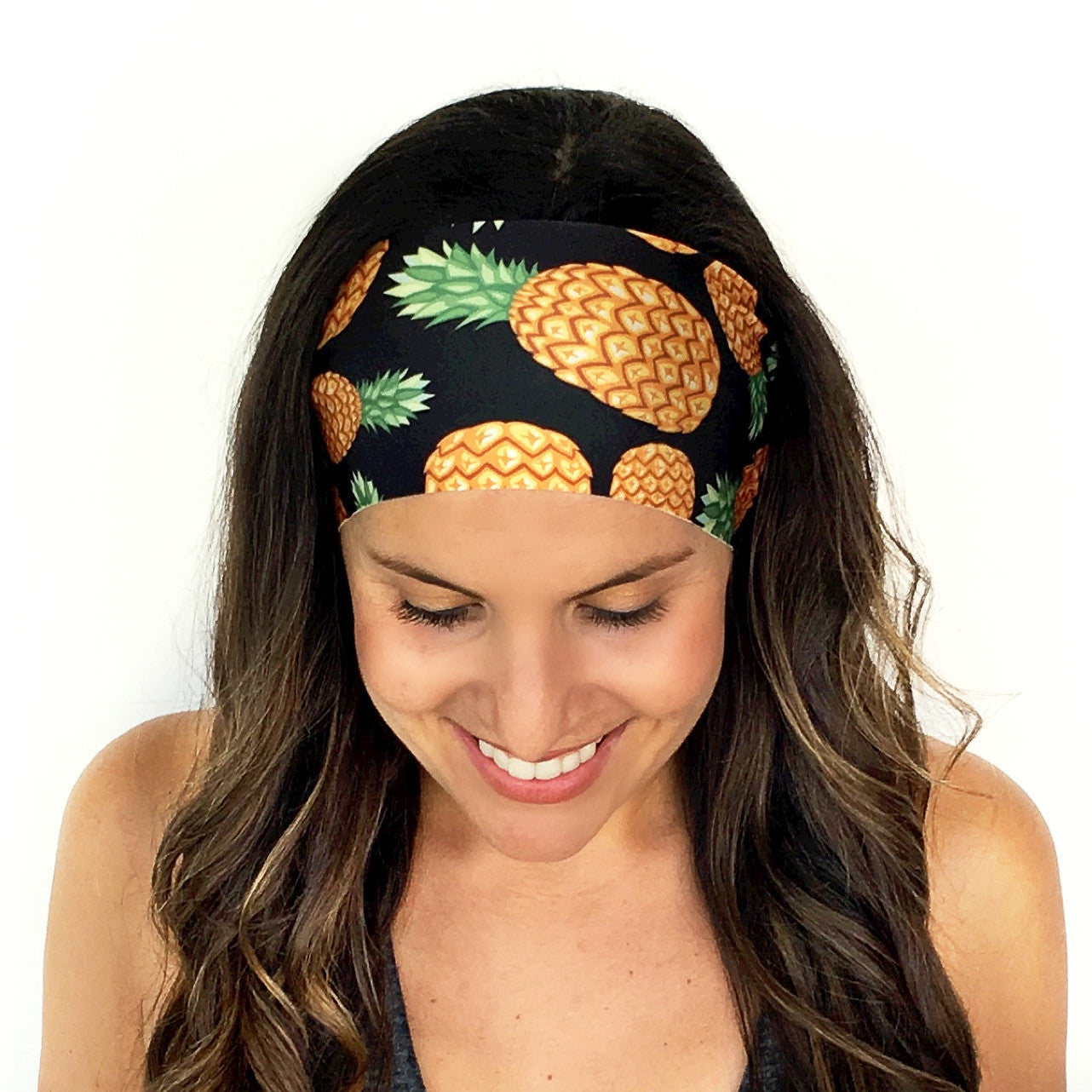 Golden Pineapple Headband Alternate