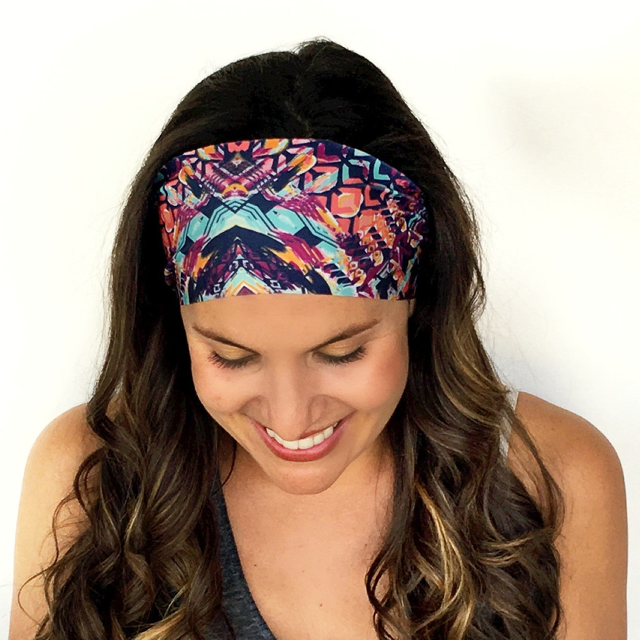 Bali Print Workout Headband