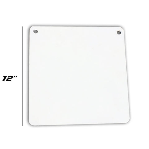 "1/2"" Square Gong Target 12"""