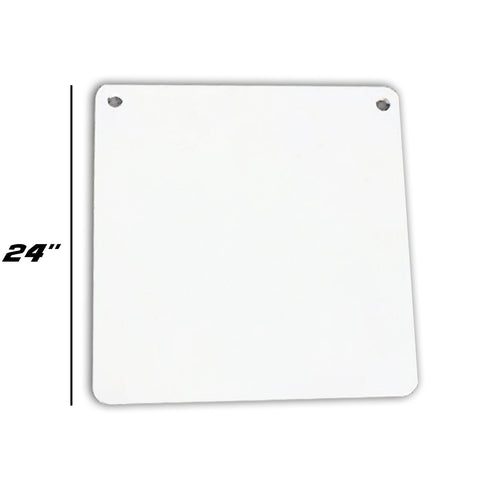 "3/8"" Square Gong Target 24"""
