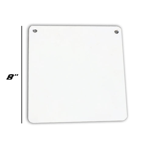"3/8"" Square Gong Target 8"""