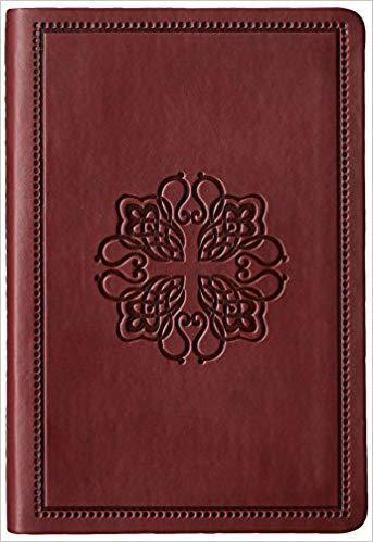 NASB Compact Bible Leathertex Burgundy