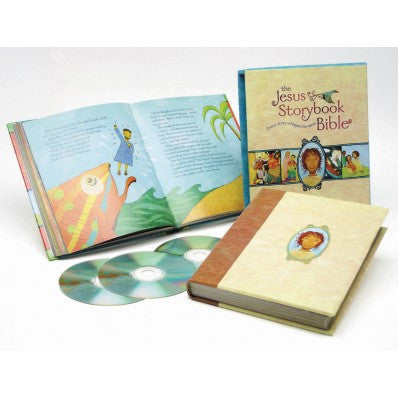The Jesus Storybook Bible (Deluxe Edition With CDs)
