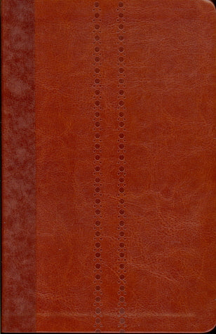 KJV UltraSlim Bible-Brown LeatherSoft